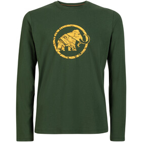 Mammut Logo Longsleeve Shirt Men woods